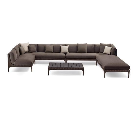 MU sofa by DEDON | Garden sofas
