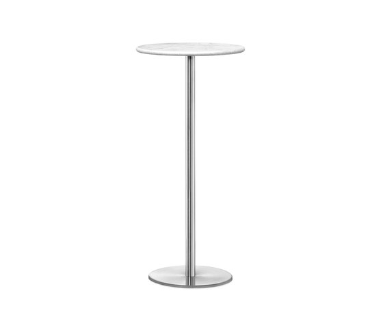 Odette Bar Table Round Marble by Massproductions | Bar tables