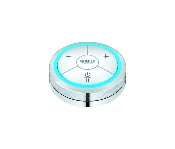 F-digital Digital controller for bath or shower by GROHE | Shower taps / mixers