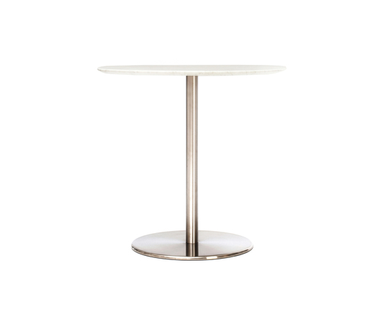 Odette Dining Table Round Marble by Massproductions | Restaurant tables