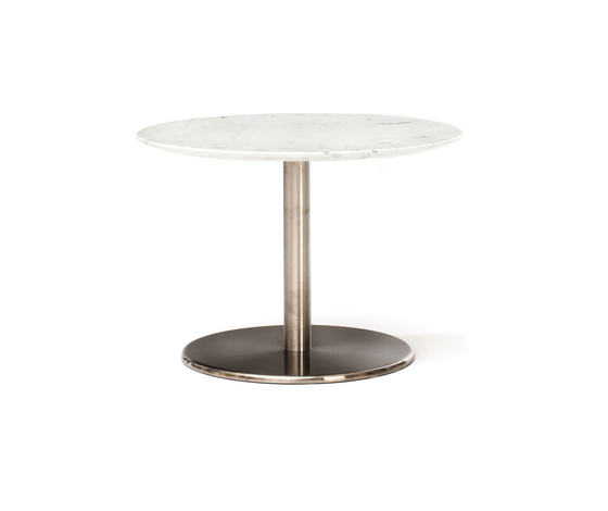 Odette Low Table Round Marble by Massproductions | Side tables