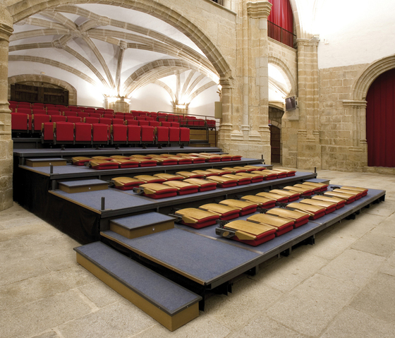 Space Retractable by Ascender | Multipurpose seating systems