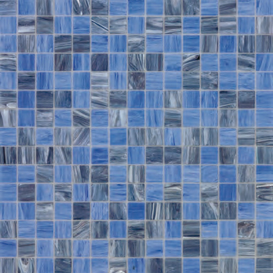 Blue Collection | Antonella by Bisazza | Glass mosaics