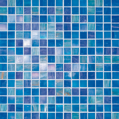 Blue Collection | Liz di Bisazza | Mosaici vetro