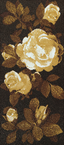 Springrose Brown B mosaic by Bisazza | Mosaics