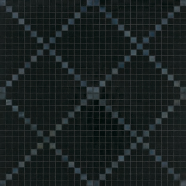 Rete Nera mosaic by Bisazza | Glass mosaics
