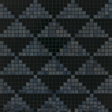 Giza Nero mosaic by Bisazza | Glass mosaics