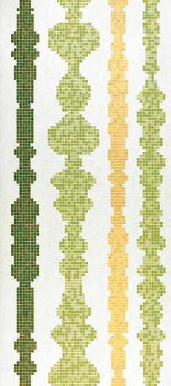 Columns Green B mosaic di Bisazza | Mosaici