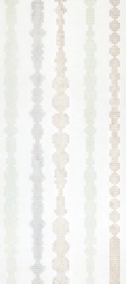 Columns White A mosaic by Bisazza | Glass mosaics