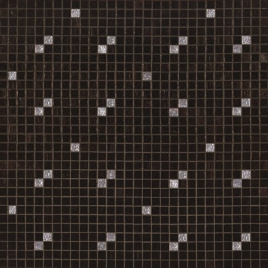 Diagonale Nero Oro mosaic von Bisazza | Glas Mosaike