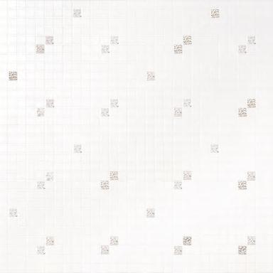 Diagonale Bianco Oro mosaic by Bisazza | Glass mosaics