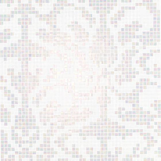 Damasco Bianco mosaic by Bisazza | Glass mosaics