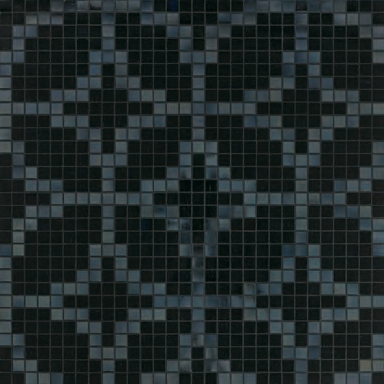 Etoiles Nero mosaic by Bisazza | Glass mosaics