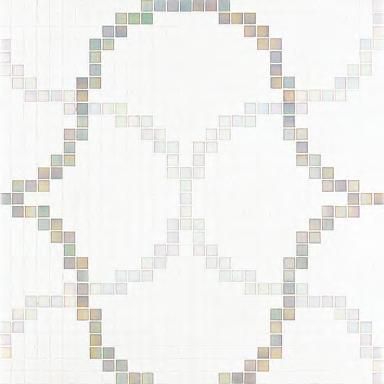 Liaisons Grey mosaic by Bisazza | Glass mosaics
