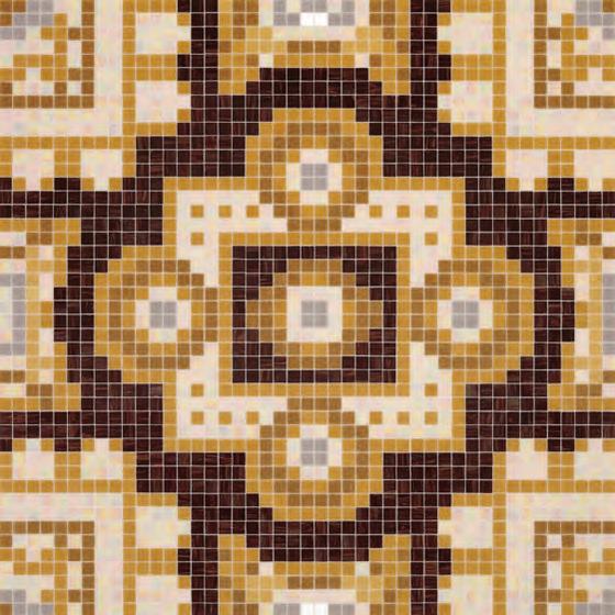 Silk Brown mosaic von Bisazza | Glas-Mosaike