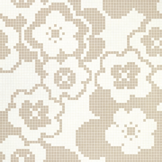 Garden Grey mosaic by Bisazza | Glass mosaics