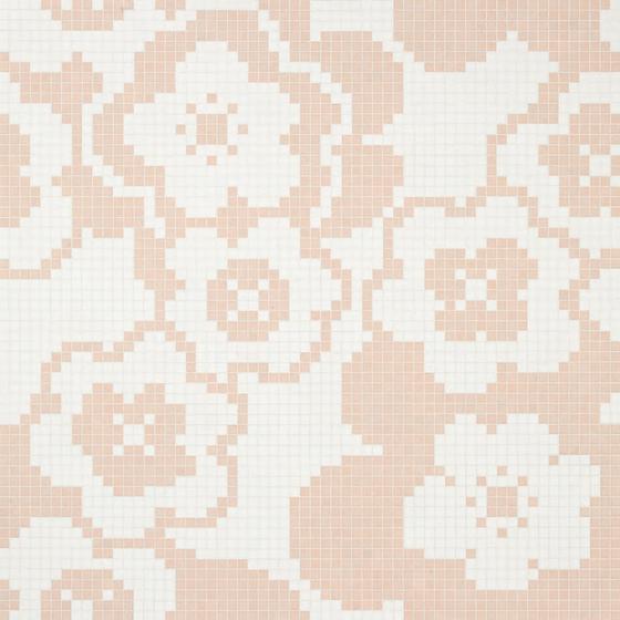 Garden Pink mosaic von Bisazza | Glas Mosaike