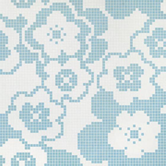 Garden Blue mosaic von Bisazza | Glas Mosaike