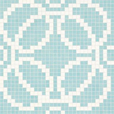Circles Blue mosaic di Bisazza | Mosaici vetro