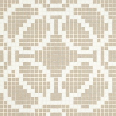 Circles Grey mosaic by Bisazza | Glass mosaics
