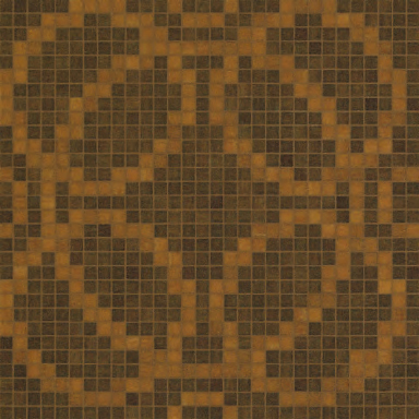 Circles Brown mosaic by Bisazza | Glass mosaics