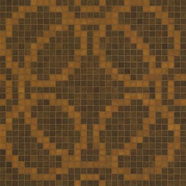 Circles Brown mosaic di Bisazza | Mosaici