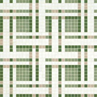 Gate Green mosaic by Bisazza | Glass mosaics