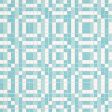 Stamps Blue mosaic by Bisazza | Mosaics
