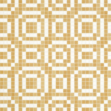 Stamps Beige mosaic by Bisazza | Glass mosaics