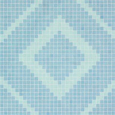 Frames Blue mosaic de Bisazza | Mosaïques