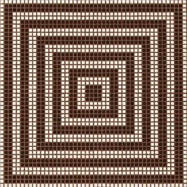 Wengé Marrone mosaic di Bisazza   Mosaici vetro