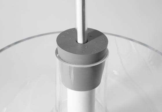 Vase & Leuchte von dua | Allgemeinbeleuchtung