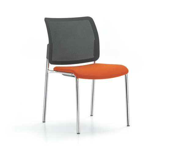 YANOS 4-legged chair by Girsberger | Visitors chairs / Side chairs