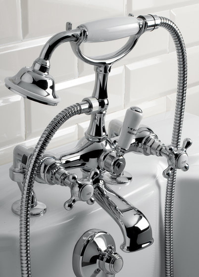 Austin Bath & Shower mixer by Devon&Devon | Bath taps