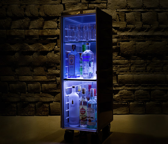 bordbar LED blue de bordbar | Dessertes