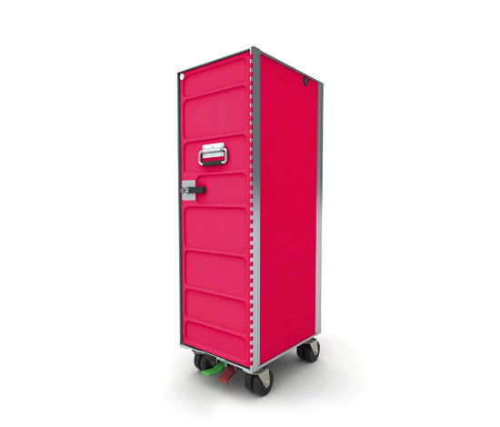 AL.CARTS RAL pink by bordbar | Tea-trolleys / Bar-trolleys