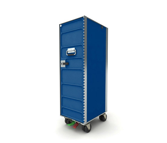 AL.CARTS RAL blue by bordbar | Tea-trolleys / Bar-trolleys