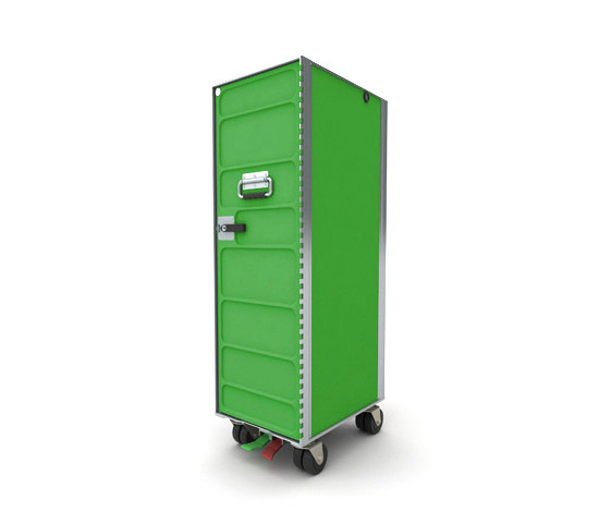 AL.CARTS RAL green by bordbar | Tea-trolleys / Bar-trolleys
