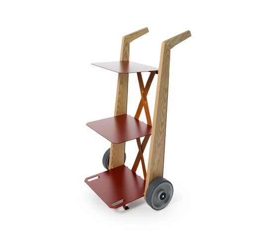 Book-trolley by Auerberg | Shelves