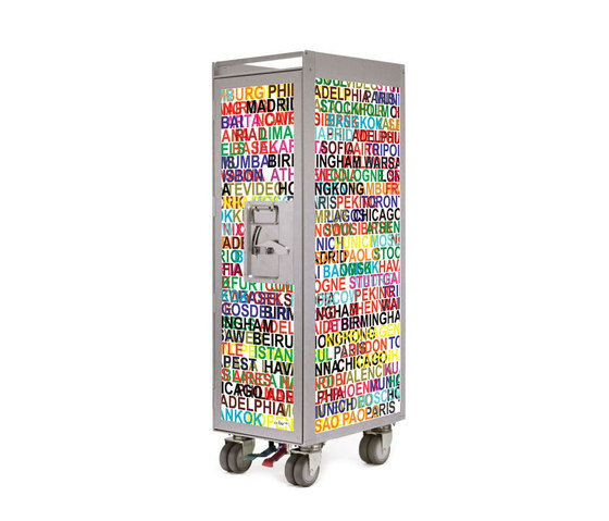 bordbar silver edition metropolitan by bordbar | Service tables / carts