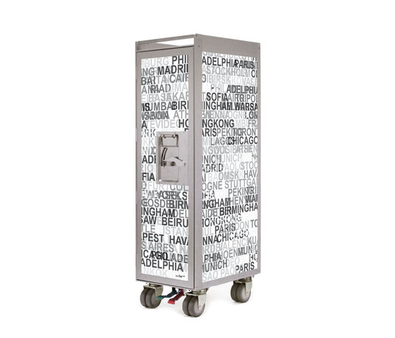 bordbar silver edition metropolitan by bordbar | Service tables / carts