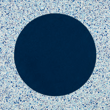 New Bubble Blue glass tile by Bisazza | Glass flooring