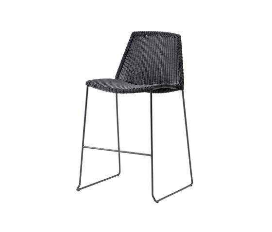 Breeze Bar Chair de Cane-line | Taburetes de bar