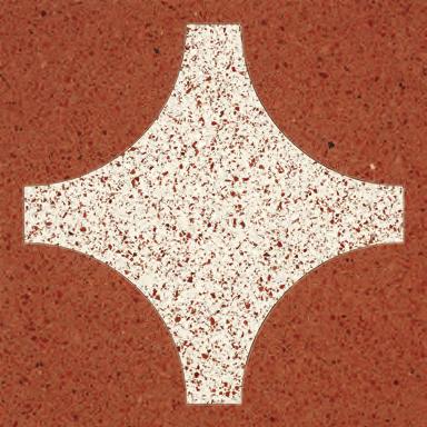 Cross Gold glass tile de Bisazza | Suelos de vidrio