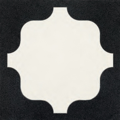 Shield Black glass tile by Bisazza | Glass flooring