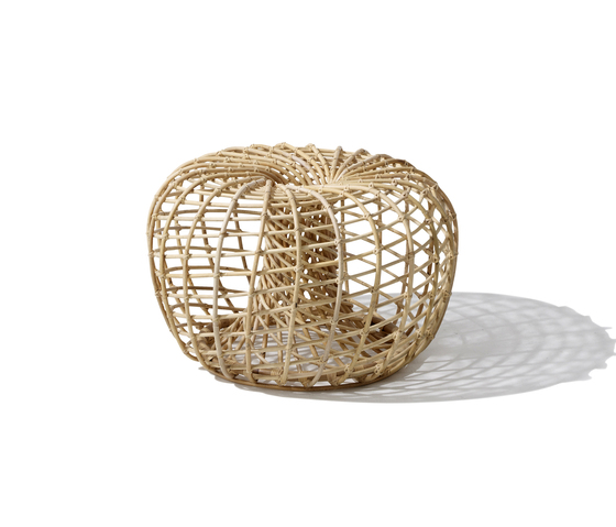 Nest Small by Cane-line | Poufs