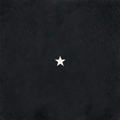 1 Star Black glass tile di Bisazza | Pavimenti in vetro