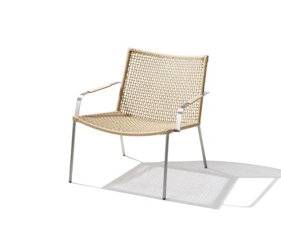 Straw Lounge Chair de Cane-line | Fauteuils