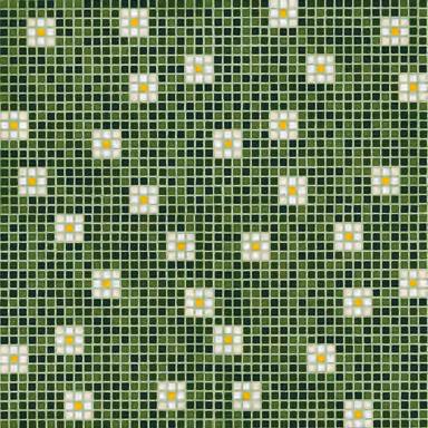 Pratoline 8 mosaic de Bisazza | Mosaïques verre