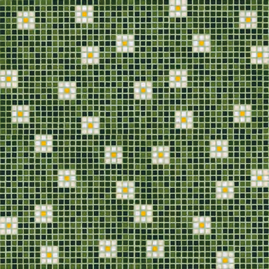 Pratoline 8 mosaic by Bisazza | Glass flooring